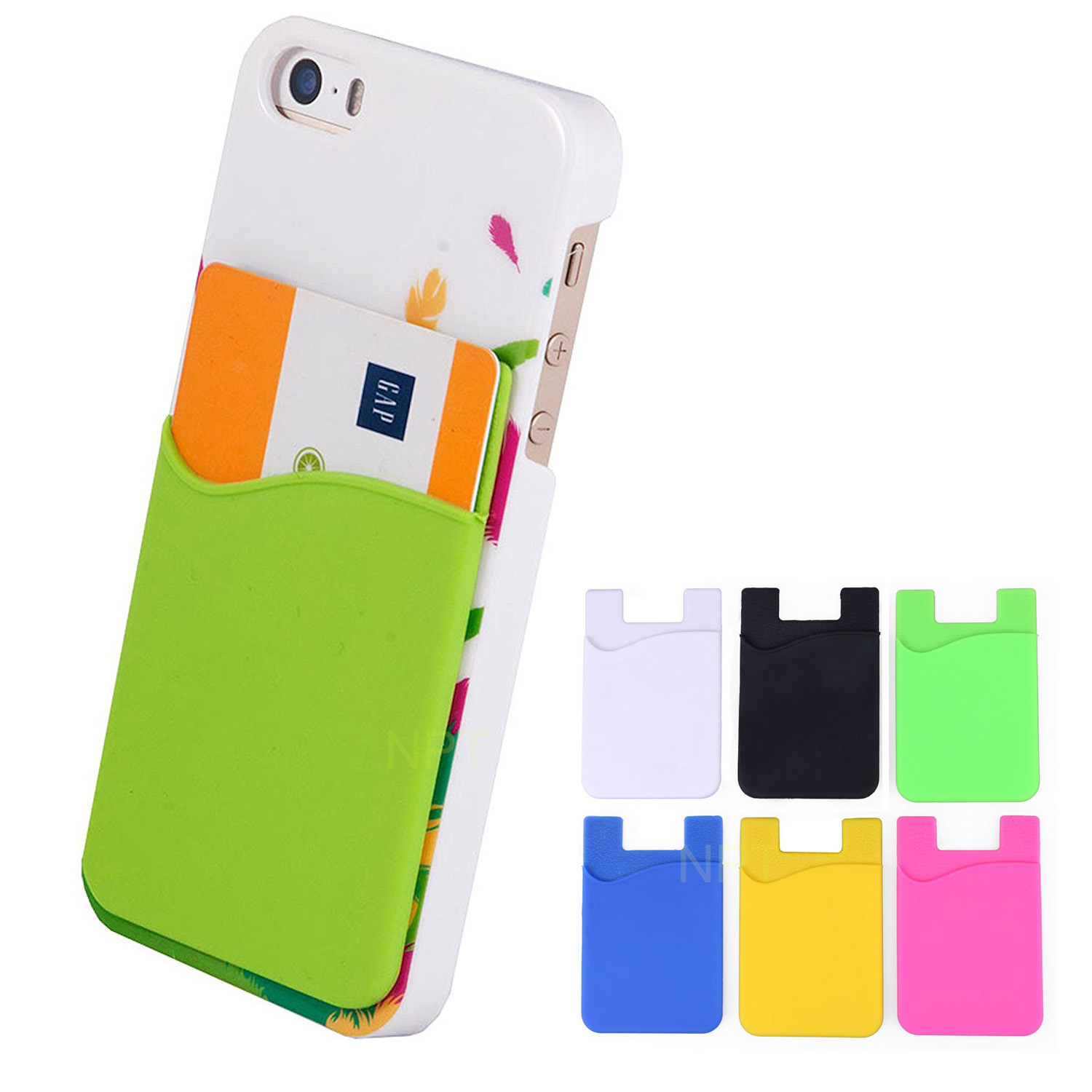 Silicone Mobile Pocket Smartphone Wallet