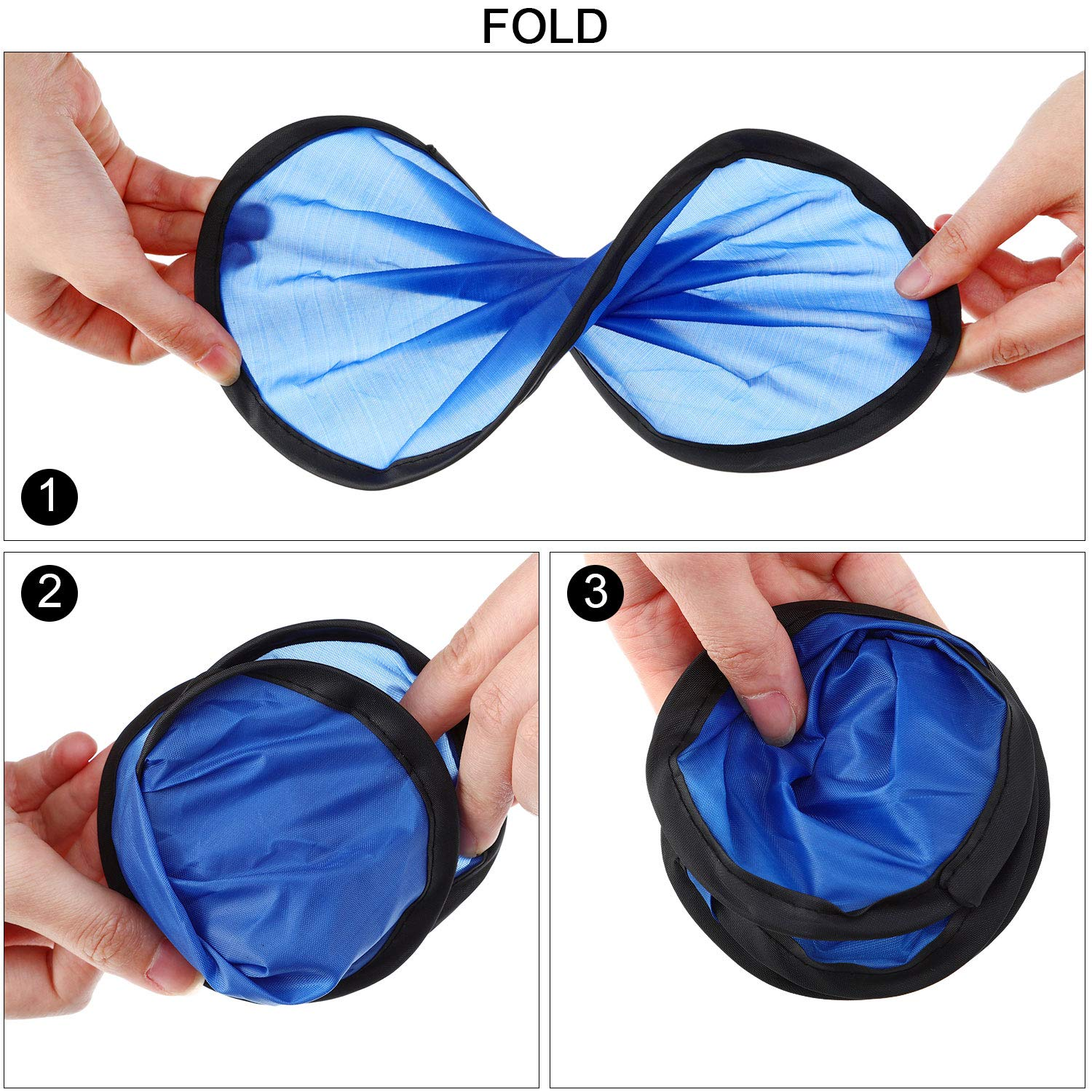 Foldable Flying Disc with Pocket