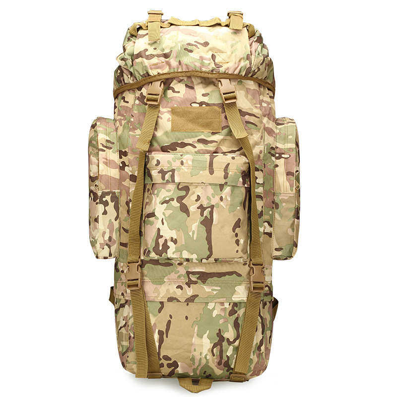 Large Capacity Tactical Backpack with Rain Cover