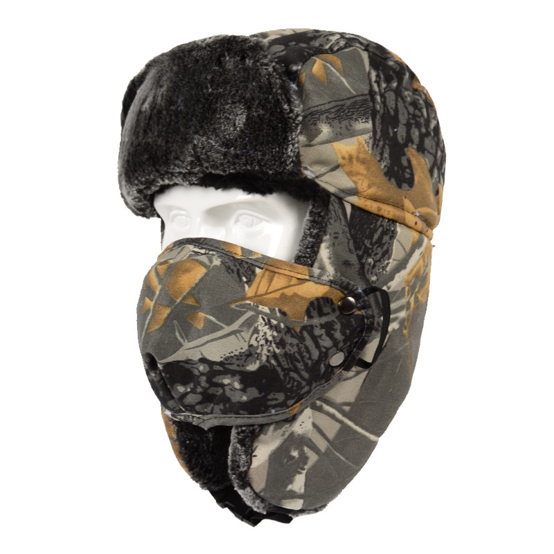 Windproof Trapper Hunting Hat Trooper Cap