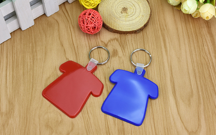 Clothing Shape PVC Keychain Key Tag