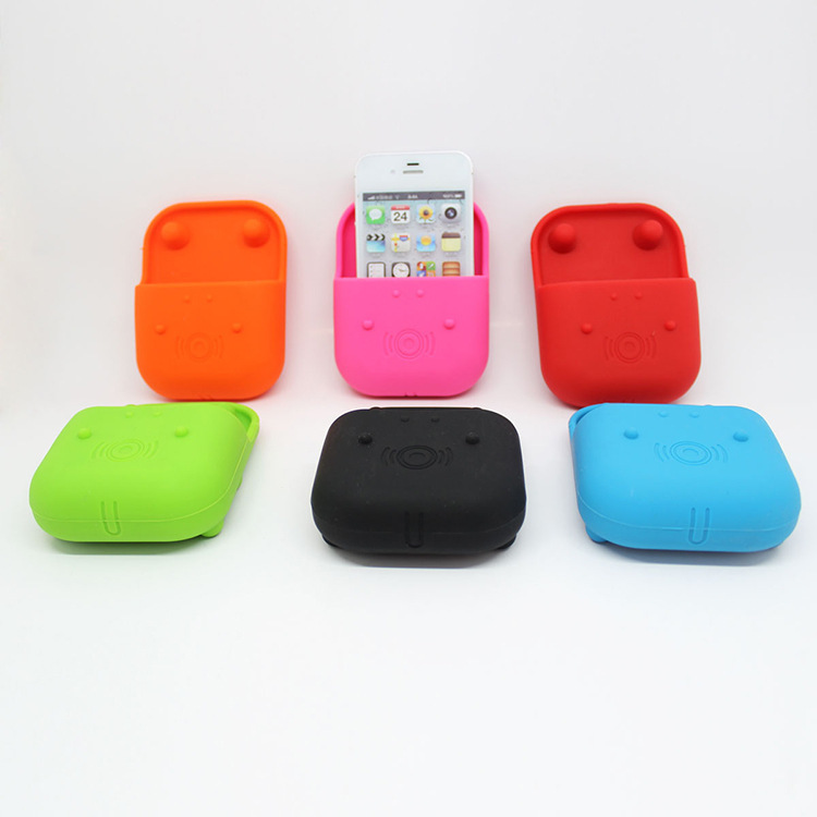 Silicone Mobile Phone Stand Hippo Microphone