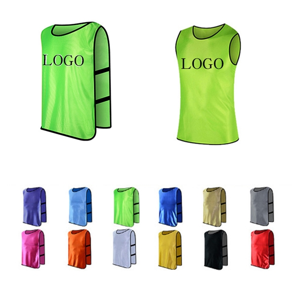Training Vests Sports Pinnies for Football/Soccer Team