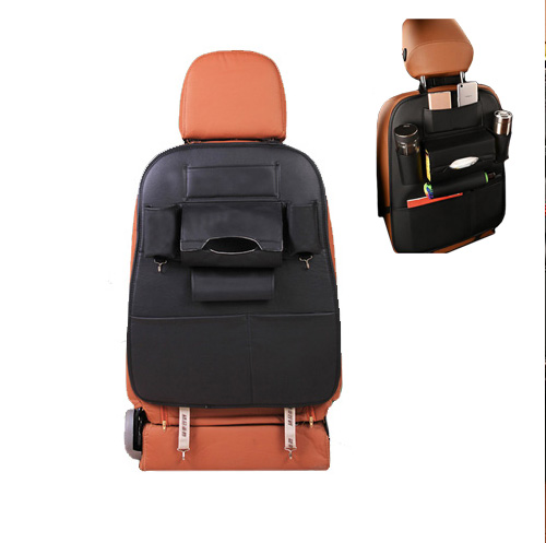 PU Leather Car Backseat Organizer