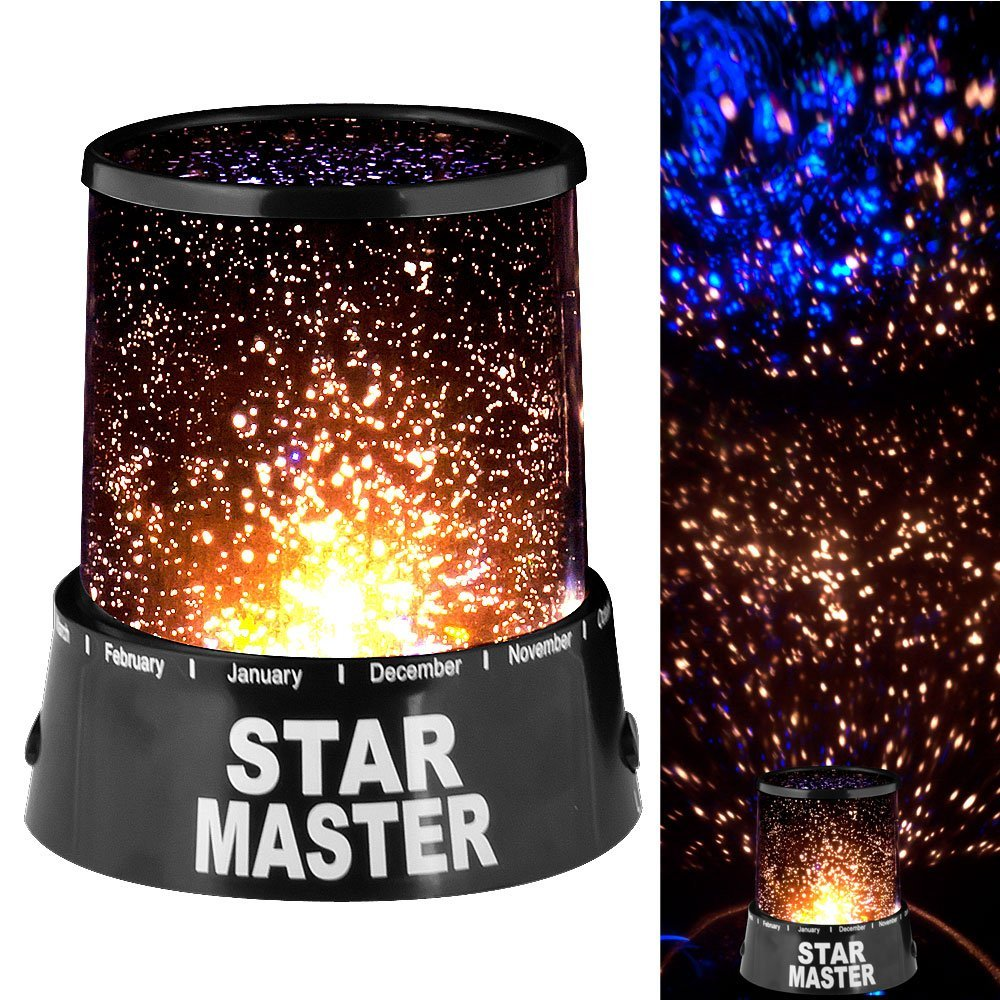 Starry Sky LED Night Light Projector Lamp