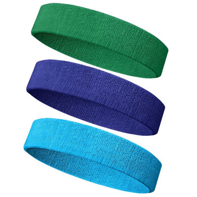Stretchy Yoga Sport Terry Sweatband