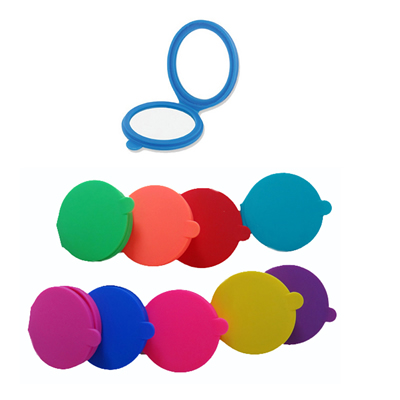 Silicone Pocket Cosmetic Mirror