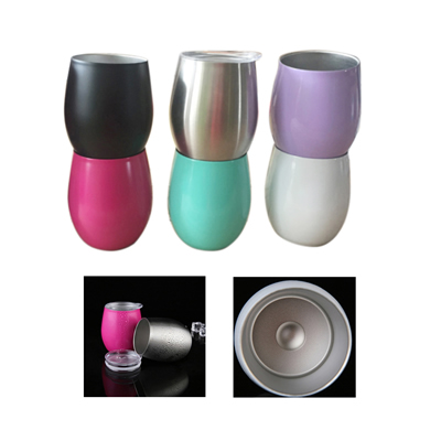 8oz Stainless Steel Egg Wine Cup
