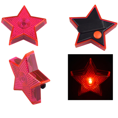 Star Safety Light Flasher Reflector