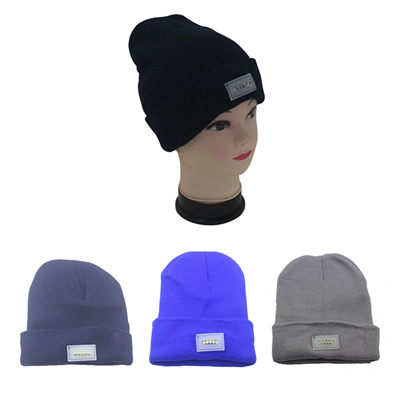 Unisex Winter Hats LED Knitted Hat