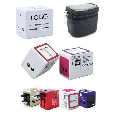 Travel Adapter with 2 USB Port