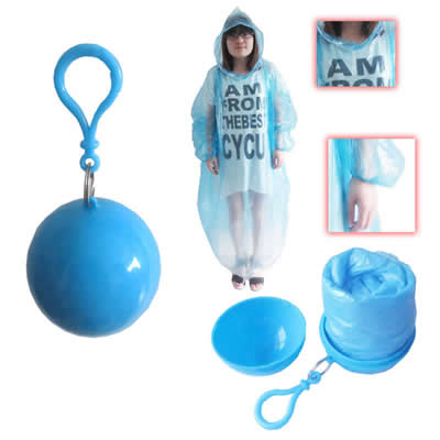 Disposable Raincoats Portable Ponchos Ball