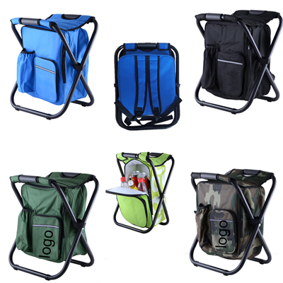 Backpack Folding Chair Cooler