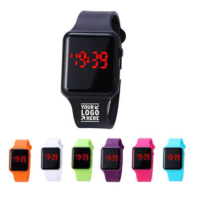 Rubber Band Digital LED Watch