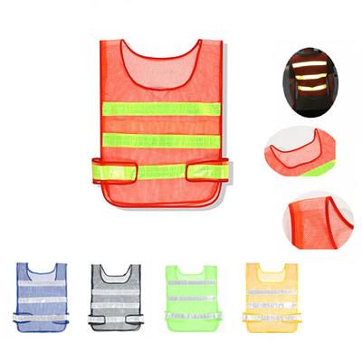 Mesh Safety Vests With Reflective Stripes