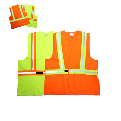 High Visibility Safety Vest with Reflective Strips