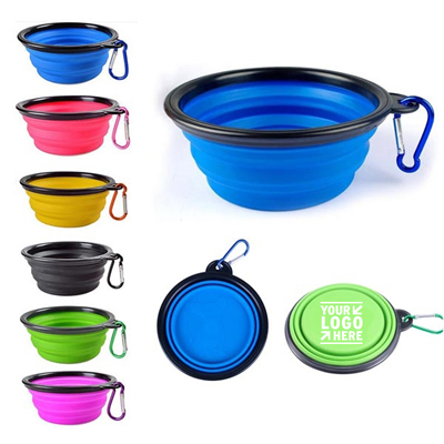 Foldable Silicone Pet Bowl