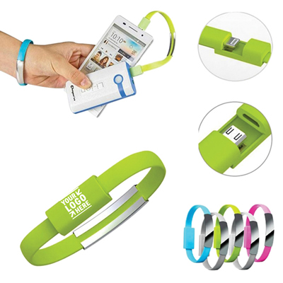 Wristband USB Charging Cable