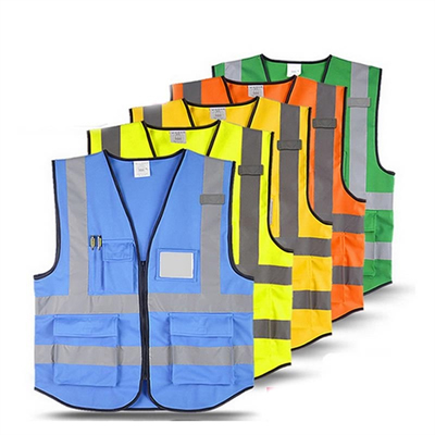 Safety Reflective Vest Workwear