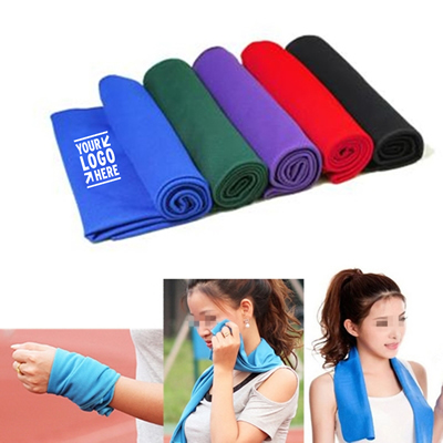 Sports Ice Cold Cooling Towel