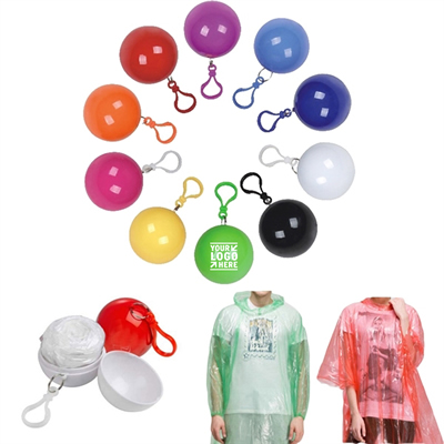 Disposable Ball Raincoat Poncho