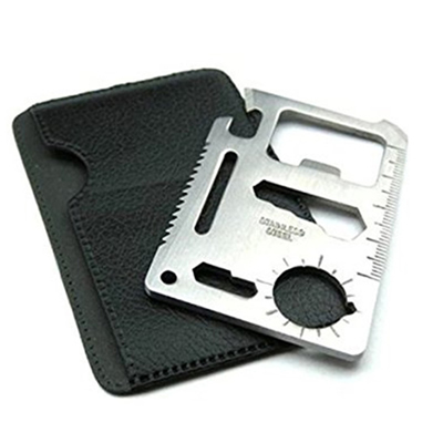 11 in 1 Credit Card Wallet Knife