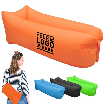 Square Shaped Headrest Inflatable Air Sleeping Sofa