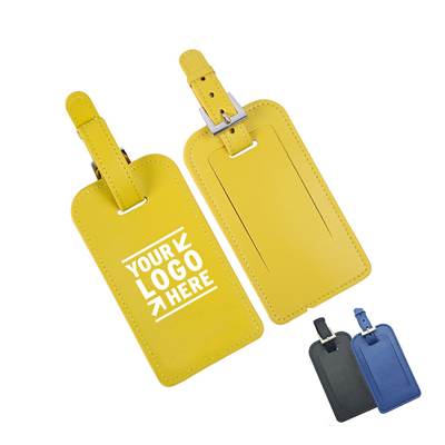 PU Leather Luggage Flying Tag