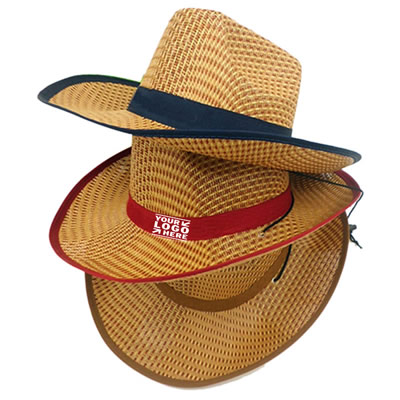 Summer Cowboy Straw Hat