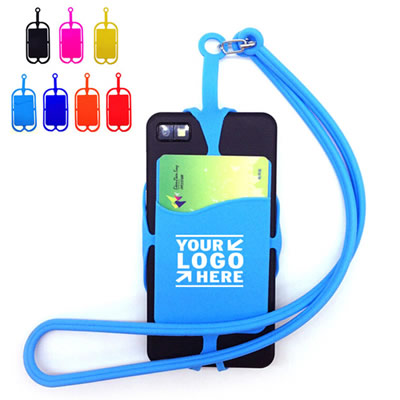 Silicone Lanyard Case Cover Holder