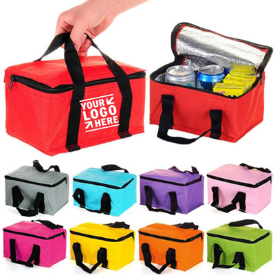 6 Pack Non-woven Can Cooler