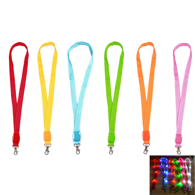 LED Light Up Neck Strap Band Lanyard