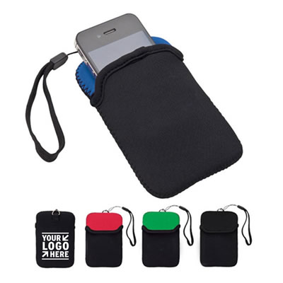 Neoprene Phone Accessory Pouch
