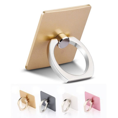 360 Degree Finger Ring Smartphone Stand Holder