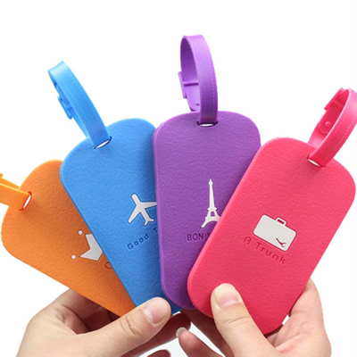 Silicone Travel Luggage Tags