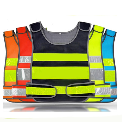 High Visibility Mesh Reflective Safety Vest