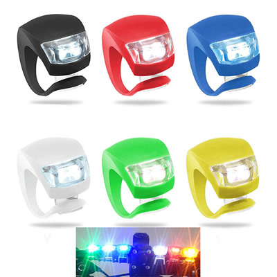 Safety Warning LED Silicone Bike Bicycle Light