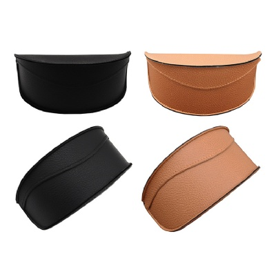 PVC Leather Glasses Case Sunglasses Box