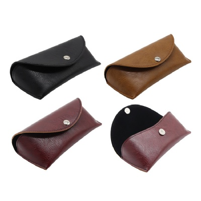 PU Leather Glasses Case Sunglasses Box