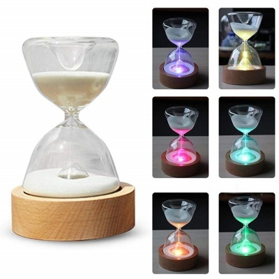 Multi-color LED Hourglass Bluetooth Music Box