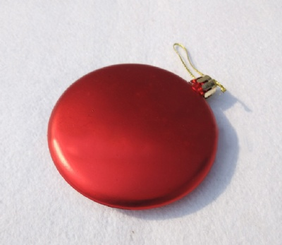 Round Flat Christmas Ornaments