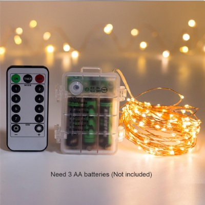 LED Fairy String Lights with Remote Control