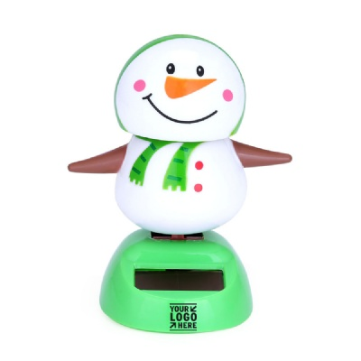 Solar Powered Automatic Swing Snowman