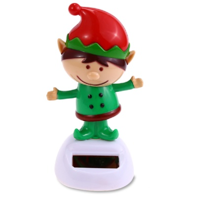 Solar Powered Dancing Christmas Elf