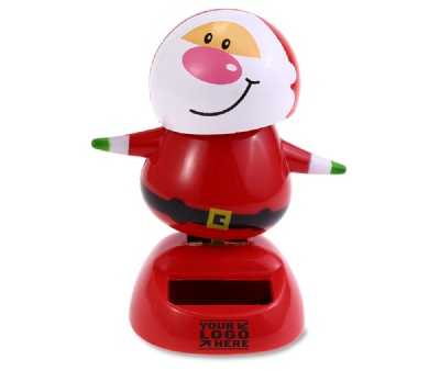 Solar Powered Shaking Santa Claus
