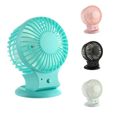 Rechargeable Mini USB Fan with Dual Motor