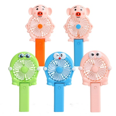 Folding Rechargeable Cartoon Mini USB Fan