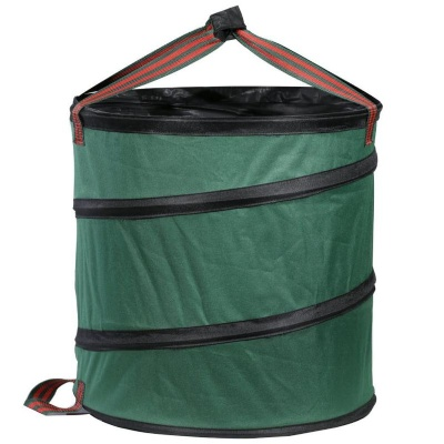 Collapsible Spring Garden Waste Bag w/ Handles