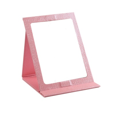 Tabletop Mirror Paper Foldable Makeup Mirror w/ Magnet