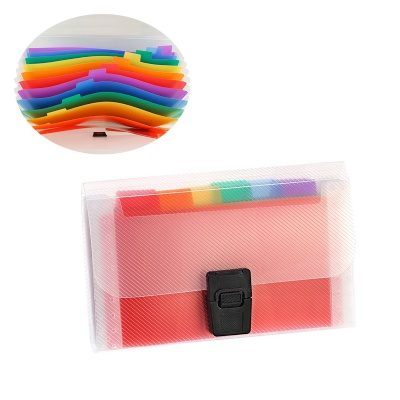 A6 Rainbow Expanding Folder 13 Pocket